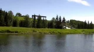 Innisfail (AB) Canada  City new picture : Dickson Dam - Red Deer River in Innisfail Alberta Canada