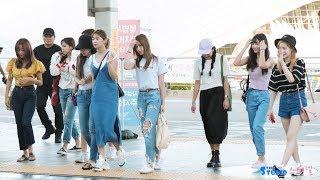 180816 트와이스 TWICE 방콕 콘서트 투어 출국 4K 60P 직캠 @ 인천공항 by Spinel