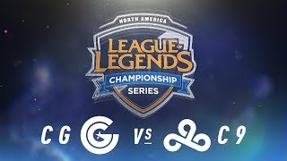 Video CG vs. C9 - Week 3 Day 2 | NA LCS Spring Split | Clutch Gaming vs. Cloud9 (2018) MP3, 3GP, MP4, WEBM, AVI, FLV Juni 2018