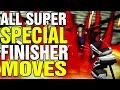 Fighters Destiny All Super Special Move Finishers Pyori Techniques Nintendo 64 N64 Hidden Characters