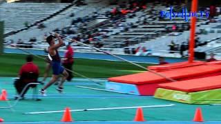 Didac Salas. Campeonato de España de federaciones. 16/06/2012. Salta 5,55 m.