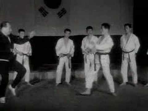 Oyama and the TKD lesson 1967