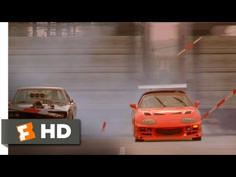 The Fast And The Furious 2001 Brian Races Dominic Scene 10 10 Movieclips