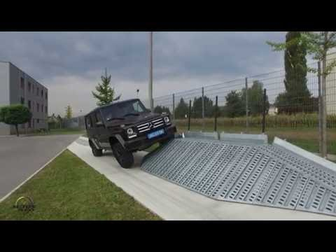 Mercedes-Benz G Class Plant in Graz, Austria (видео)