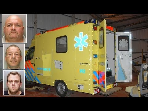 Men used fake ambulances to smuggle £1.6bn of cocaine and heroin into UK