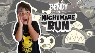 Playing Bendy Nightmare Run! Checking out DLC Codes!