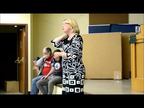 Elizabeth May - Saanich Town Hall - September 2013 - CO2 Levels of 400 ppm