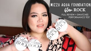 MIZZU GLAM ROCK AQUA FOUNDATION | FULL REVIEW + SWATCHES + PERFORMANCE TEST
