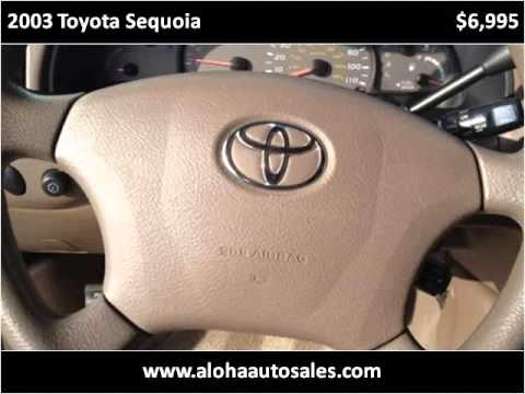 2003 Toyota Sequoia Used Cars Bakersfield CA