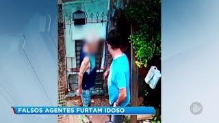 Criminosos se passam por agentes da saúde e furtam idoso em Bauru