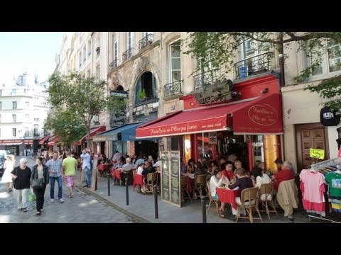 A walk in Saint-Germain-des-Prés in Paris – Travel to France with me and explore Paris!