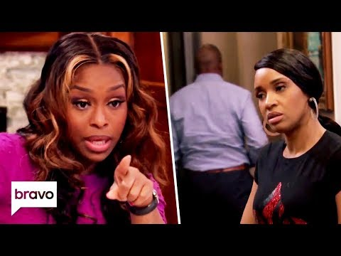 Quad Goes Off On A Rant & Contessa's Husband Storms Off | Married To Medicine Highlights (S7 Ep2)