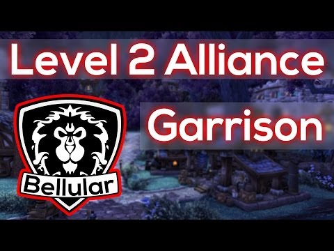 garrison - Time to look at the awesome level 2 alliance garrison in the Warlords of Draenor beta! ○I Stream on Twitch.tv! - http://bit.ly/BellularTwitch ○Twitter me! - ...