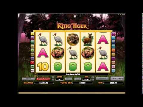King Tiger Slots 10 Free Spins