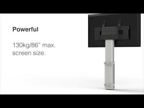 HI-LO® Mono, Wall fixed, screen mount