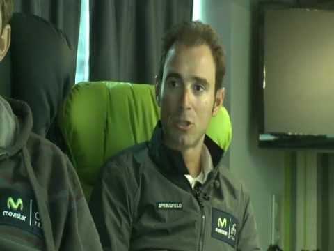 Movistar Team con la Energía Natural de PowerBar®