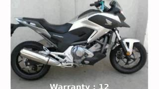 8. 2012 Honda NC700X DCT ABS Info & Features