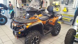 10. New 2016 Can-Am® Outlander™ MAX Limited 1000R For Sale in Chandler near Mesa, Phoenix, and Tempe, AZ