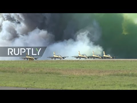 LIVE: MAKS Air Show continues in Russia - DAY 4