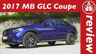 2016 Mercedes-Benz GLC 300 4MATIC Coupé (C252) In-Depth Review, Full Test, Test Drive by Video Car Review