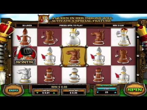 Free Queen of Thrones slot machine by Leander Games gameplay ★ SlotsUp