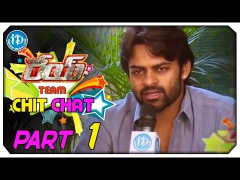 Rey Movie Team Exclusive Chit Chat Part  1  Sai Dharam Tej  Shraddha Das  YVS Chowdary