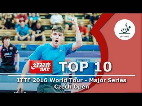 DHS ITTF Top 10 - 2016 Czech Open