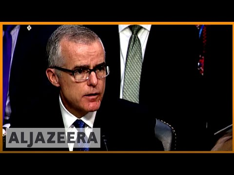 🇺🇸 Reports: McCabe gave memos on Trump interactions to Mueller | Al Jazeera English
