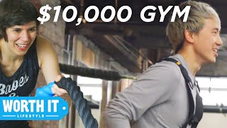 Video $40 Gym Vs. $10,000 Gym MP3, 3GP, MP4, WEBM, AVI, FLV Agustus 2018