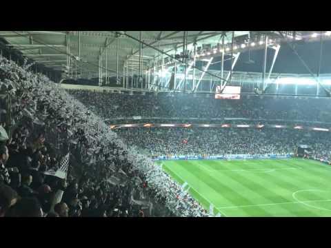BEŞİKTAŞ 2-1 LYON VODAFONE ARENA SERAMONİ BAYRAK SHOW 20.04.2017