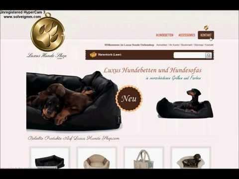 Luxus Hundebett kaufen - Videoanleitung für luxus-hunde-shop.com