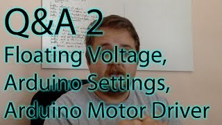 Contribute to the channel:https://www.patreon.com/EE_Enthusiast In the second Q&A I'm answering more of the viewer questions. The topics include floating voltages, arduino settings and a discussion on the 12v rail for the motor driver. I'm also unboxing some of the items I purchased on eBay, Amazon and other websites. They will be used in the following tutorials. Get in touch:Facebook: https://www.facebook.com/EEEnthusiastTwitter: https://twitter.com/EE_EnthusiastWebsite: http://eeenthusiast.comGitHub: https://github.com/VRomanov89Personal website: http://vladromanov.com Relevant Search Terms:EEEnthusiast, Vlad Romanov, Volodymyr Romanov, arduino, programming, unboxing, tutorial, q&a, question & answer, electronics, engineering, diy, hobbyist, mailbag, monday, led driver, sharp sensor, ir sensor, distance, arduino tutorial, ebay, aliexpress, amazon, purchase, buy electronics
