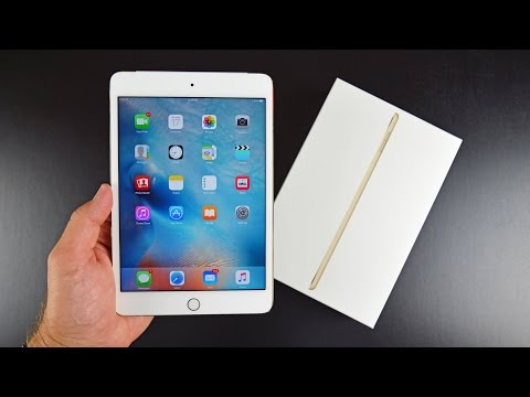 Apple iPad mini 4: Unboxing & Review