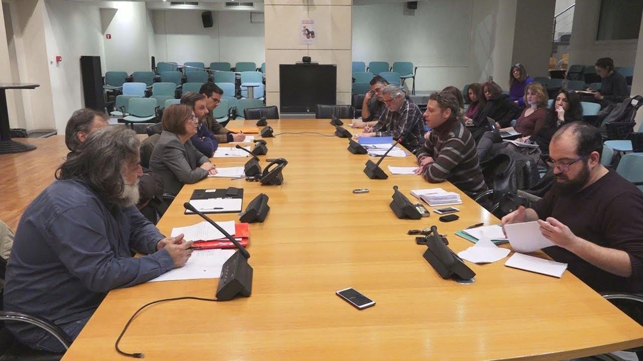 Συνάντηση της υπουργού Πολιτισμού  με εκπροσώπους του Σωματείου Ελλήνων Ηθοποιών