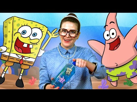 crafty - Spongebob Squarepants inspires Crafty Carol to make a brand new craft: the Ocean in a Bottle! It's part craft, part science project, and all fun! What craft ...