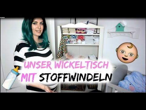 Unser Wickeltisch mit Stoffwindeln |  37. SSW | IKEA Hensvik Wickelkomode