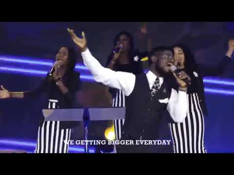 BIGGER EVERYDAY BY MOSES BLISS performance by coza global choir