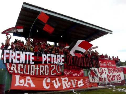 Barra del Caracas FC en Amazonas - Los Demonios Rojos - Caracas