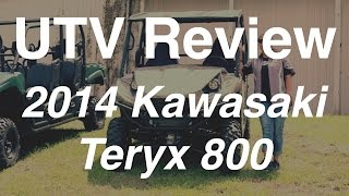 4. Review of the 2014 Kawasaki Teryx 800