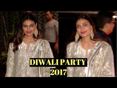 Athiya Shetty At Arpita Khan's Diwali Party 2017