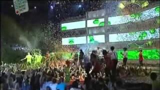 Ending - Delta Gets Slimed! - Delta Goodrem - Australian Nickelodeon Kids' Choice Awards 2009