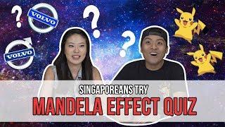 Video Singaporeans Try: The Mandela Effect MP3, 3GP, MP4, WEBM, AVI, FLV Agustus 2018