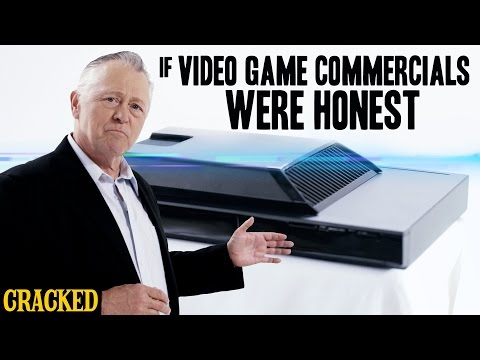 If video game commercials were honest.