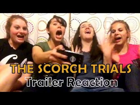 "Our Reaction to ""The Scorch Trials"" Trailer!!"