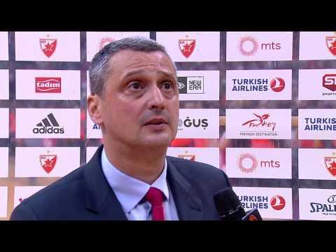 Post-game interview: Coach Radonjic, Crvena Zvezda mts Belgrade