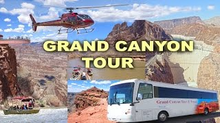 Video GRAND CANYON TOUR - Skywalk, Guano Point, Hoover Dam, Helicopter and Boat Trip 4K MP3, 3GP, MP4, WEBM, AVI, FLV September 2019