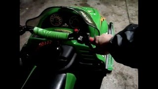 2. Arctic Cat Z 120 Snowmobile Engine Start