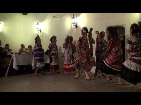 Baile Flor de piña Oaxaca