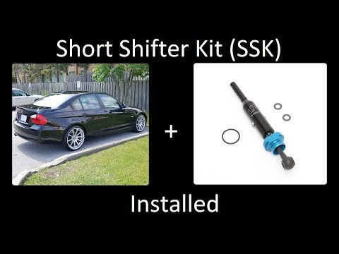 BMW E90 Dinan Short Shifter Kit (SSK) - Before & After HD/4K