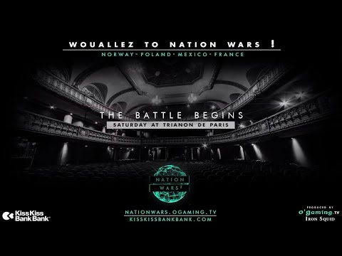[BONUS] Wouallez to Nation Wars !